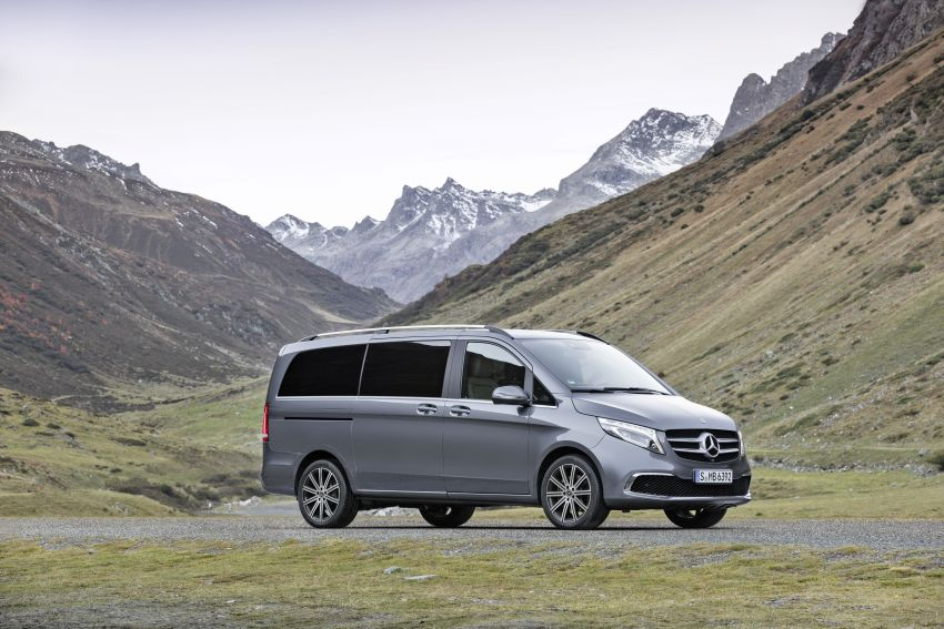 W447 Mercedes-Benz V-Class facelift gets new diesel Image #918905