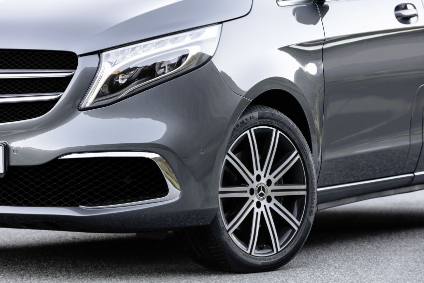 W447 Mercedes-Benz V-Class facelift gets new diesel Image #918908