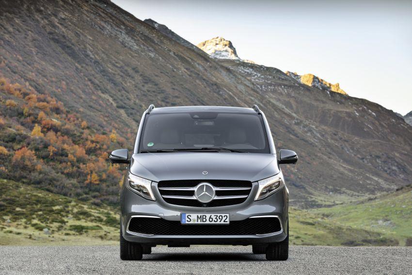 W447 Mercedes-Benz V-Class facelift gets new diesel Image #918909