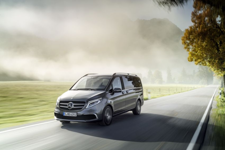 W447 Mercedes-Benz V-Class facelift gets new diesel Image #918913