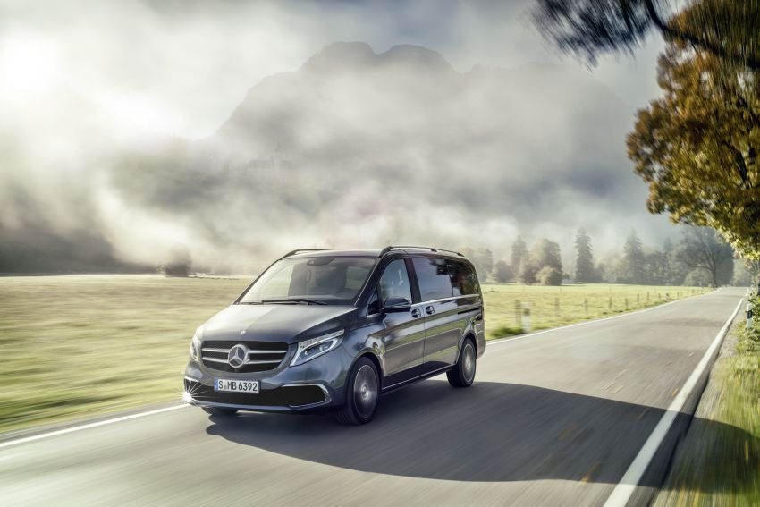 W447 Mercedes-Benz V-Class facelift gets new diesel Image #918914