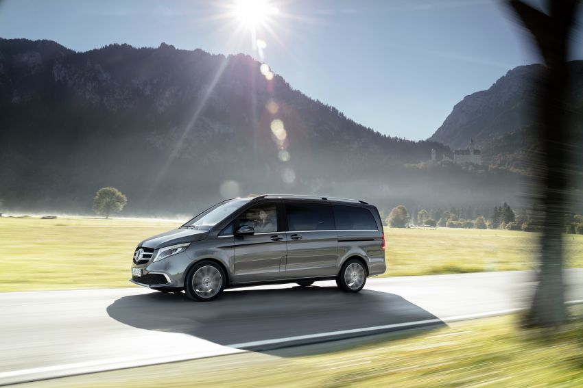 W447 Mercedes-Benz V-Class facelift gets new diesel Image #918915