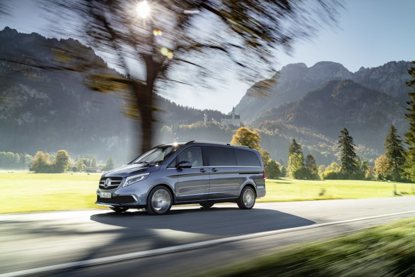 W447 Mercedes-Benz V-Class facelift gets new diesel Image #918916