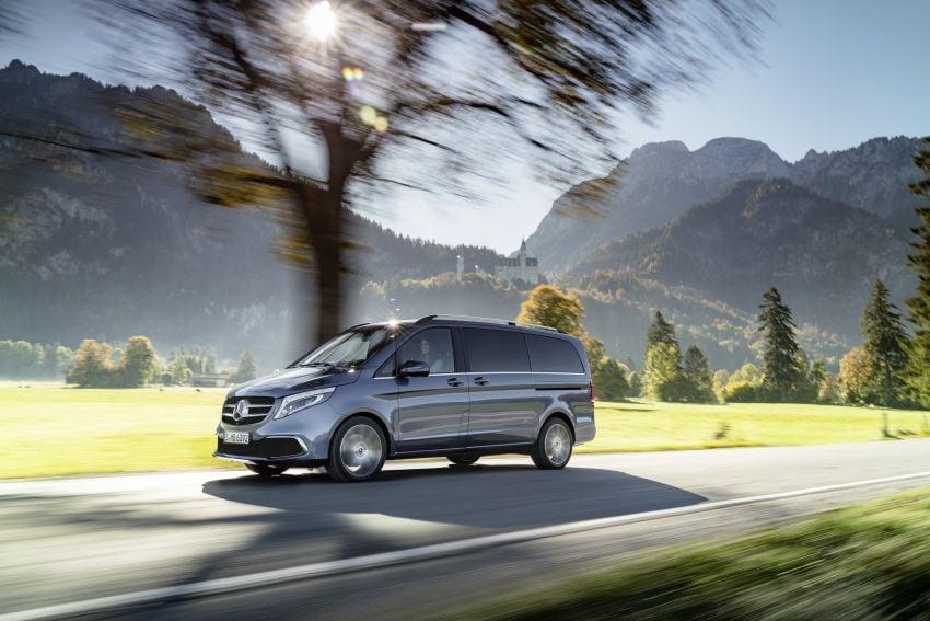 W447 Mercedes-Benz V-Class facelift gets new diesel Image #918916