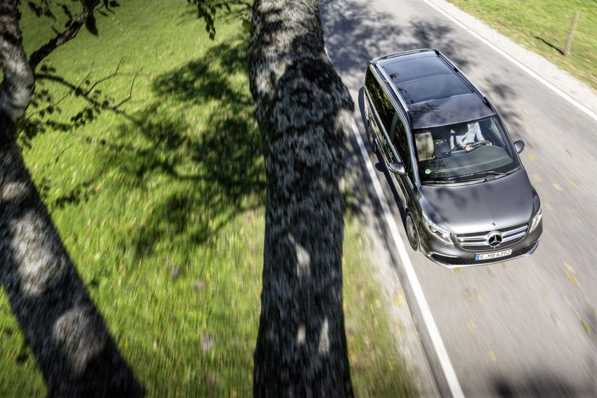W447 Mercedes-Benz V-Class facelift gets new diesel Image #918918