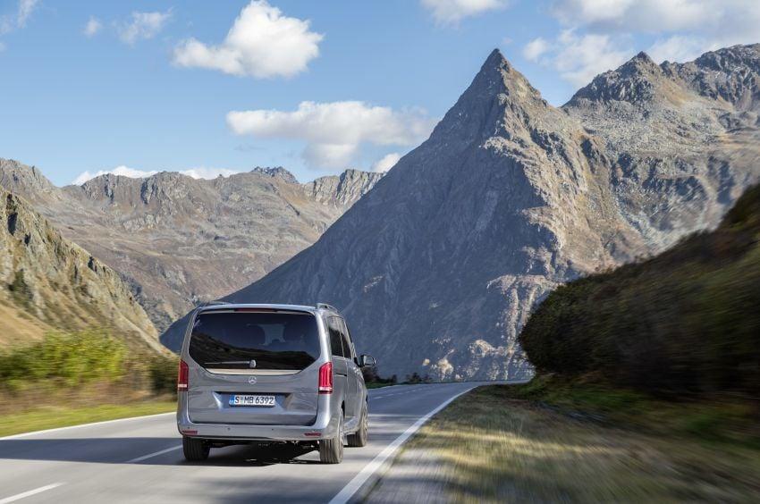 W447 Mercedes-Benz V-Class facelift gets new diesel Image #918920