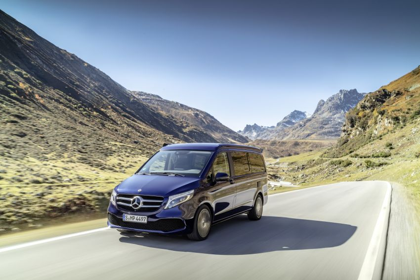 W447 Mercedes-Benz V-Class facelift gets new diesel Image #918922