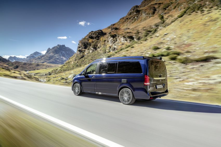 W447 Mercedes-Benz V-Class facelift gets new diesel Image #918923