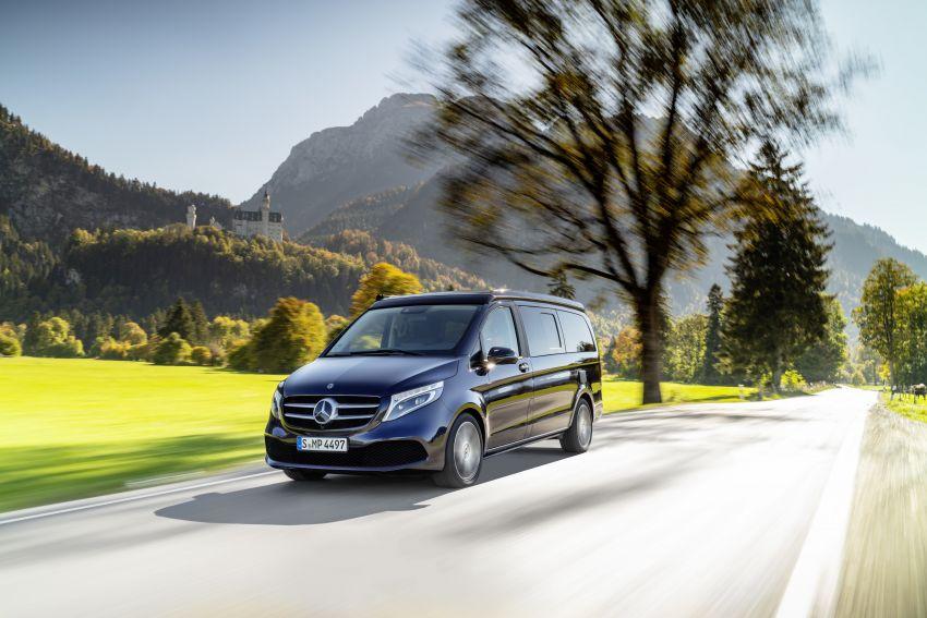 W447 Mercedes-Benz V-Class facelift gets new diesel Image #918924