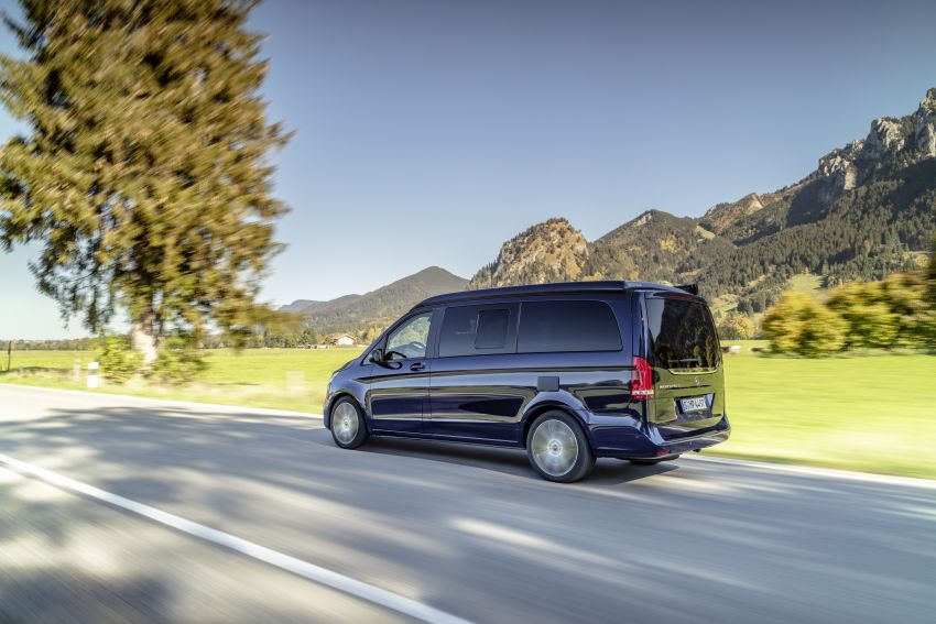 W447 Mercedes-Benz V-Class facelift gets new diesel Image #918926
