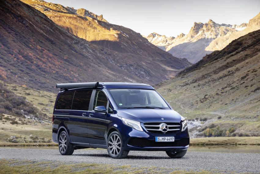 W447 Mercedes-Benz V-Class facelift gets new diesel Image #918928