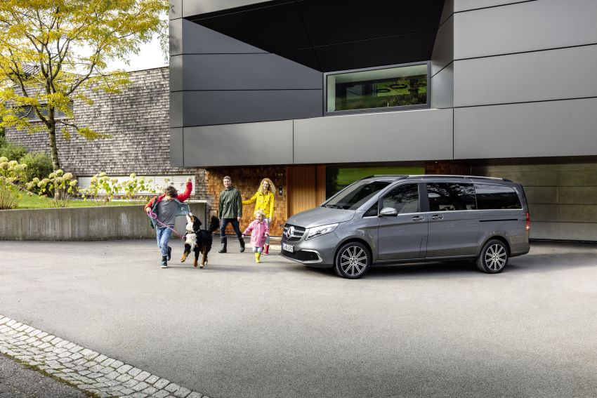 W447 Mercedes-Benz V-Class facelift gets new diesel Image #918885