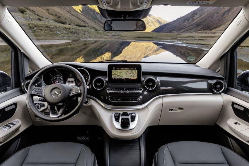 W447 Mercedes-Benz V-Class facelift gets new diesel Image #918940