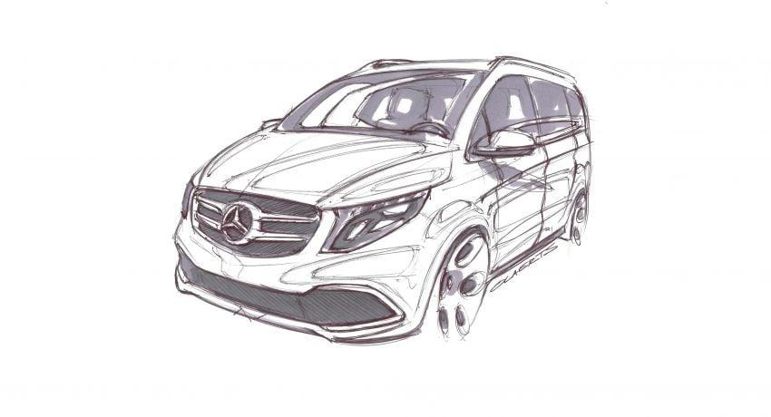 W447 Mercedes-Benz V-Class facelift gets new diesel Image #918962
