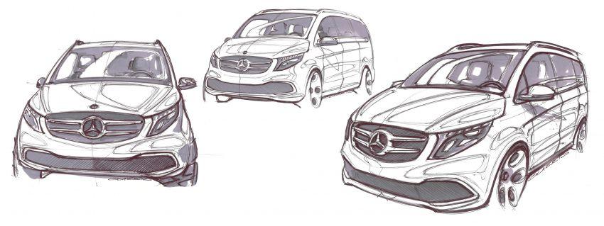 W447 Mercedes-Benz V-Class facelift gets new diesel Image #918963