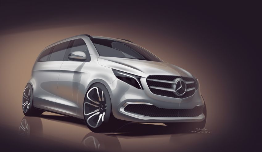 W447 Mercedes-Benz V-Class facelift gets new diesel Image #918964