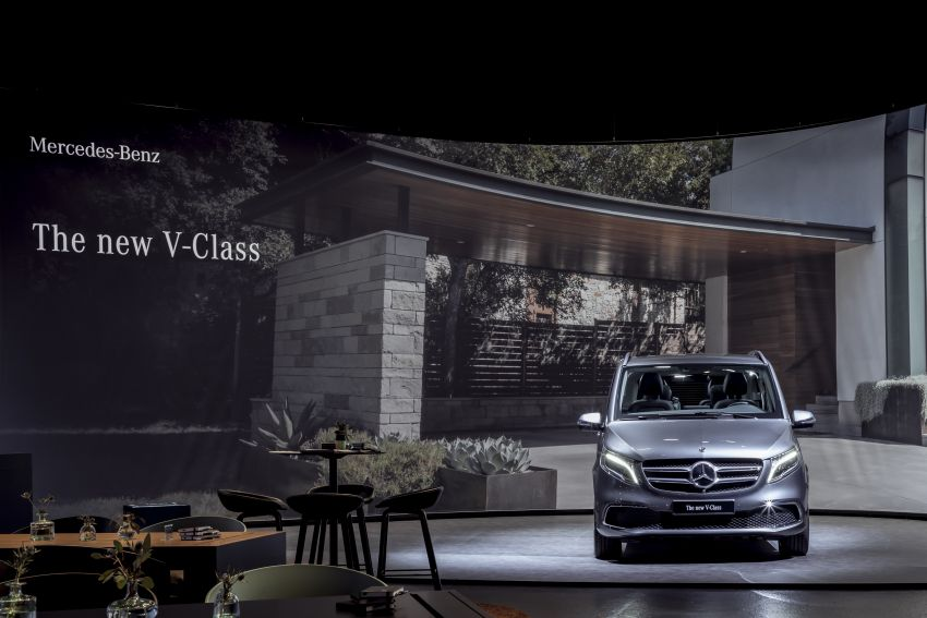 W447 Mercedes-Benz V-Class facelift gets new diesel Image #918965