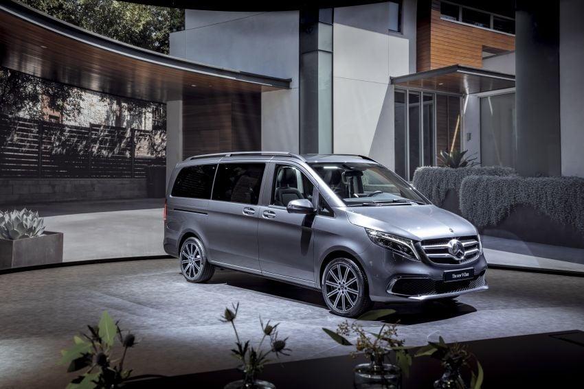 W447 Mercedes-Benz V-Class facelift gets new diesel Image #918966