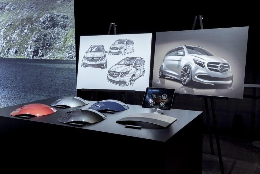 W447 Mercedes-Benz V-Class facelift gets new diesel Image #918967