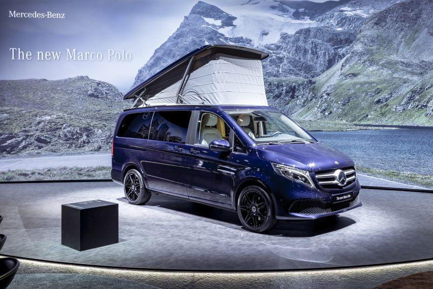 W447 Mercedes-Benz V-Class facelift gets new diesel Image #918968