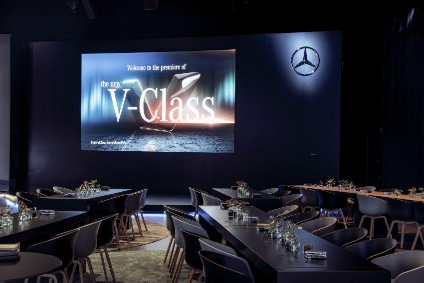 W447 Mercedes-Benz V-Class facelift gets new diesel Image #918969
