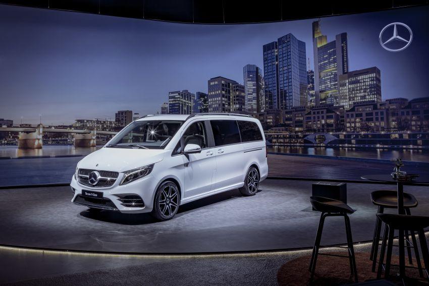 W447 Mercedes-Benz V-Class facelift gets new diesel Image #918970