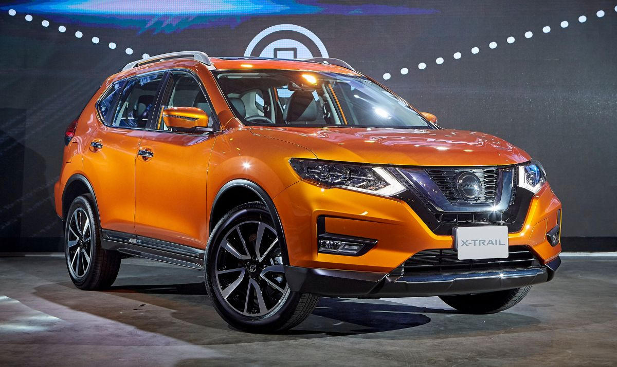 nissan x trail facelift launched in thailand minor restyling added safety tech for petrol and. Black Bedroom Furniture Sets. Home Design Ideas