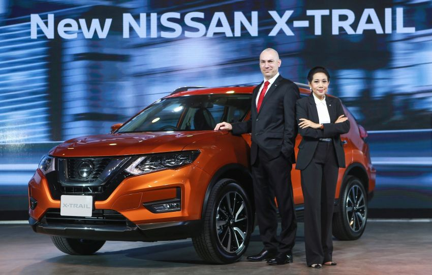Nissan X-Trail facelift launched in Thailand – minor restyling, added safety tech for petrol and 2.0L hybrid Image #919799