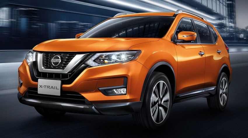 Nissan X-Trail facelift launched in Thailand – minor restyling, added safety tech for petrol and 2.0L hybrid Image #919815