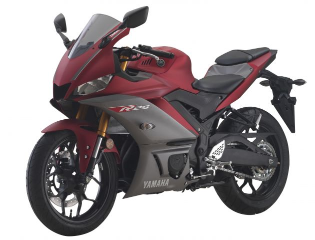2019 Yamaha Yzf R25 Price Announced Rm19 998