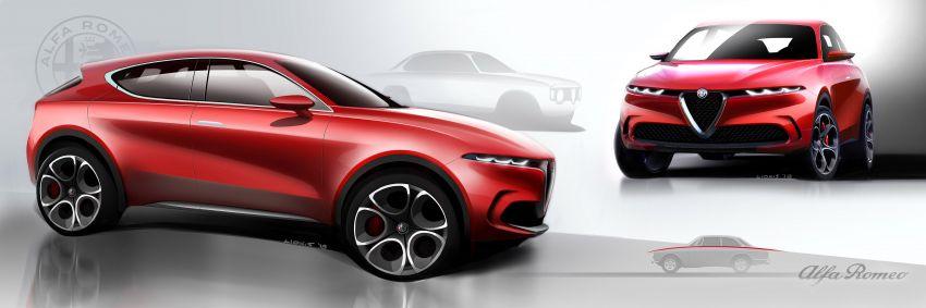 Alfa Romeo Tonale concept – new midsize, PHEV SUV Image #932942
