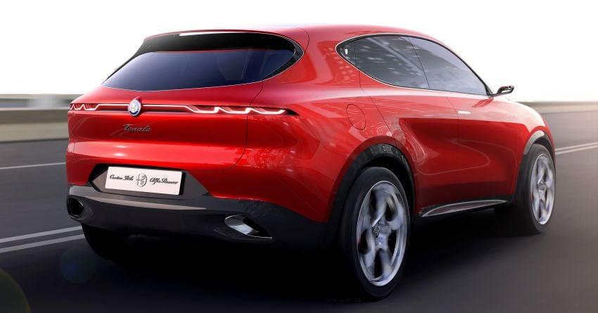Alfa Romeo Tonale concept – new midsize, PHEV SUV Image #932953