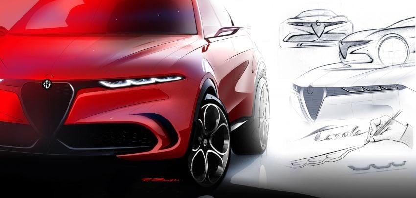 Alfa Romeo Tonale concept – new midsize, PHEV SUV Image #932955