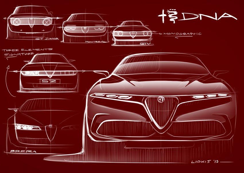 Alfa Romeo Tonale concept – new midsize, PHEV SUV Image #932959