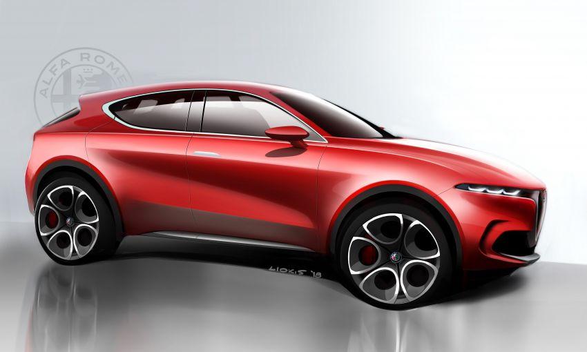 Alfa Romeo Tonale concept – new midsize, PHEV SUV Image #932961
