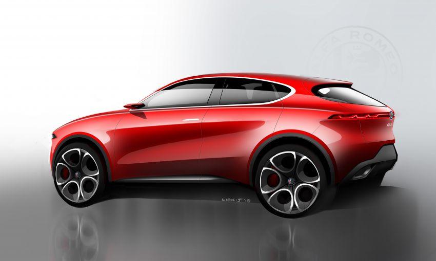 Alfa Romeo Tonale concept – new midsize, PHEV SUV Image #932963