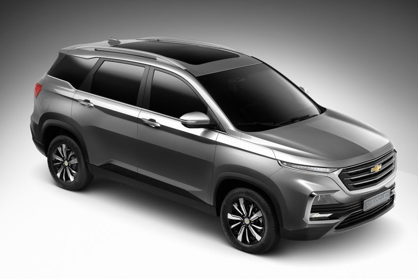 Bangkok 2019: New Chevrolet Captiva is a rebadged Baojun 530, Wuling Almaz – below 1m baht, 5/7 seats Image #939675