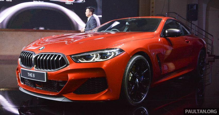 G15 BMW 8 Series launched in Malaysia – sole M850i xDrive variant; 530 PS 4.4L twin-turbo V8; RM1,088,800 Image #933566