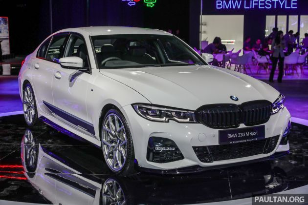 G20 Bmw 3 Series M Performance Parts On Show
