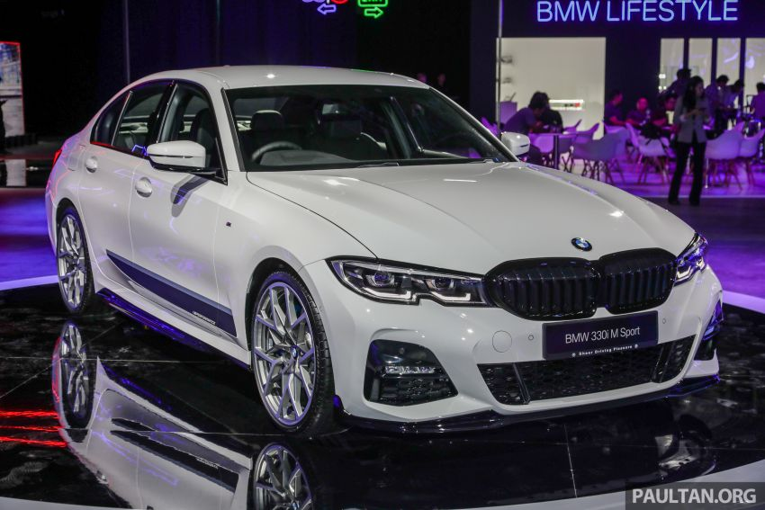 G20 BMW 3 Series – M Performance parts on show Image #940328