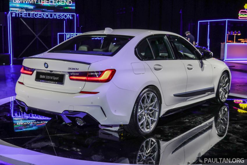 G20 BMW 3 Series – M Performance parts on show Image #940329