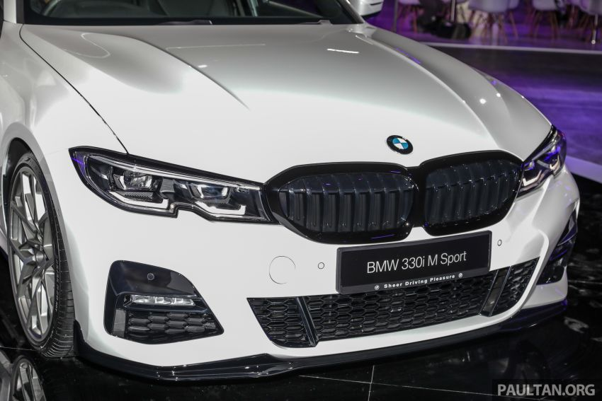 G20 BMW 3 Series – M Performance parts on show Image #940333