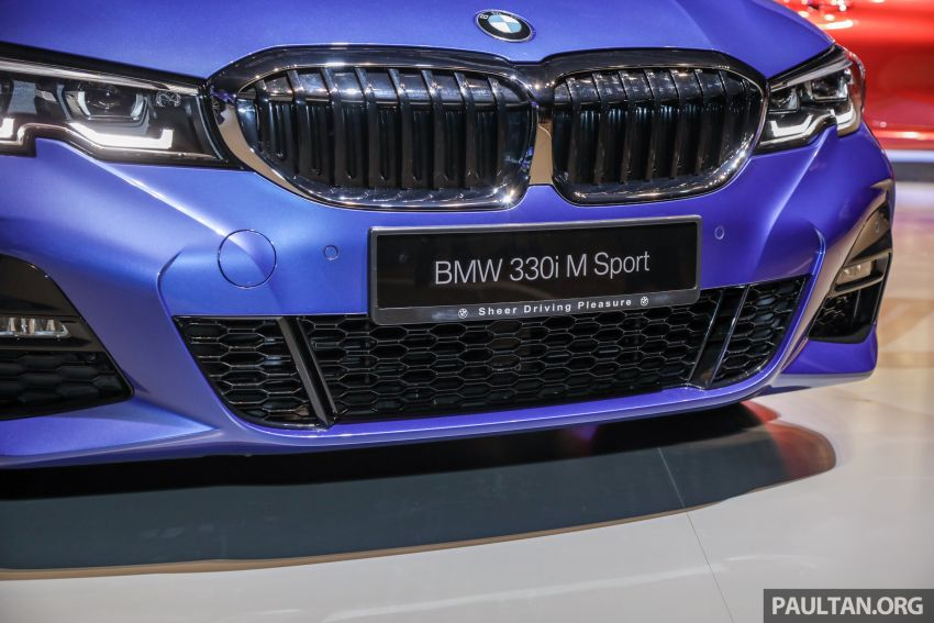 G20 BMW 3 Series launched in Malaysia: 330i, RM329k Image #940036