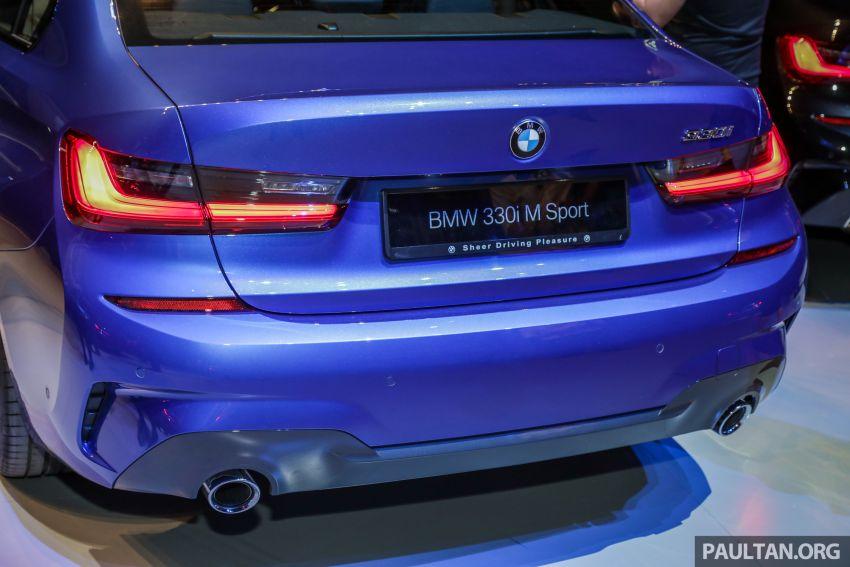 BMW 3 Series G20 dilancarkan di M'sia – 330i M Sport, 2.0L TwinPower, 258 hp/400 Nm, harga RM328,800 Image #940219