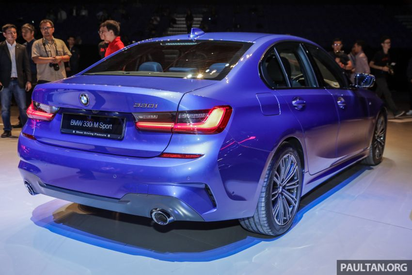 G20 BMW 3 Series launched in Malaysia: 330i, RM329k Image #940029