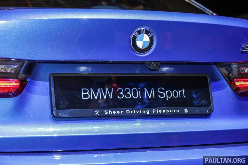 G20 BMW 3 Series launched in Malaysia: 330i, RM329k Image #940049