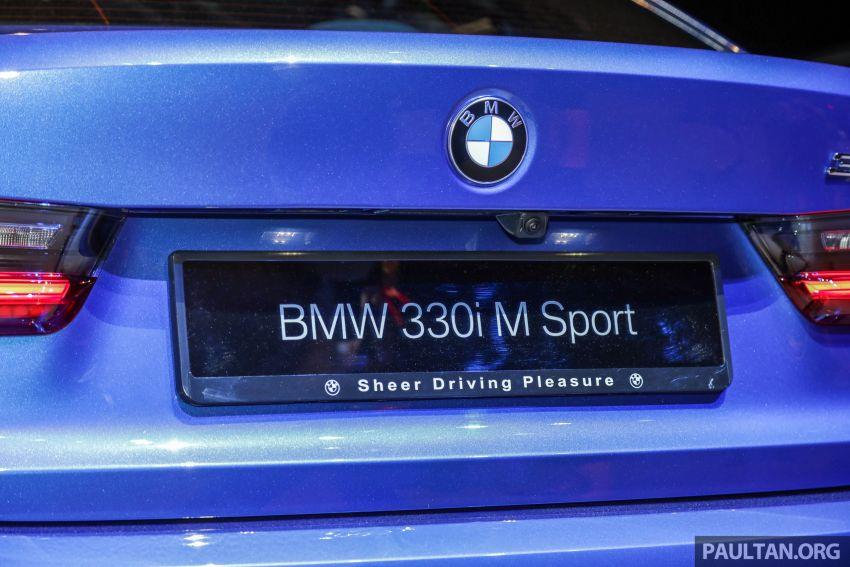 BMW 3 Series G20 dilancarkan di M'sia – 330i M Sport, 2.0L TwinPower, 258 hp/400 Nm, harga RM328,800 Image #940223