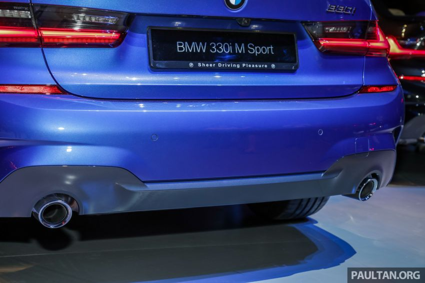 G20 BMW 3 Series launched in Malaysia: 330i, RM329k Image #940050