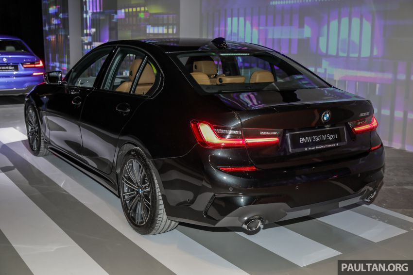 BMW 3 Series G20 dilancarkan di M'sia – 330i M Sport, 2.0L TwinPower, 258 hp/400 Nm, harga RM328,800 Image #940228