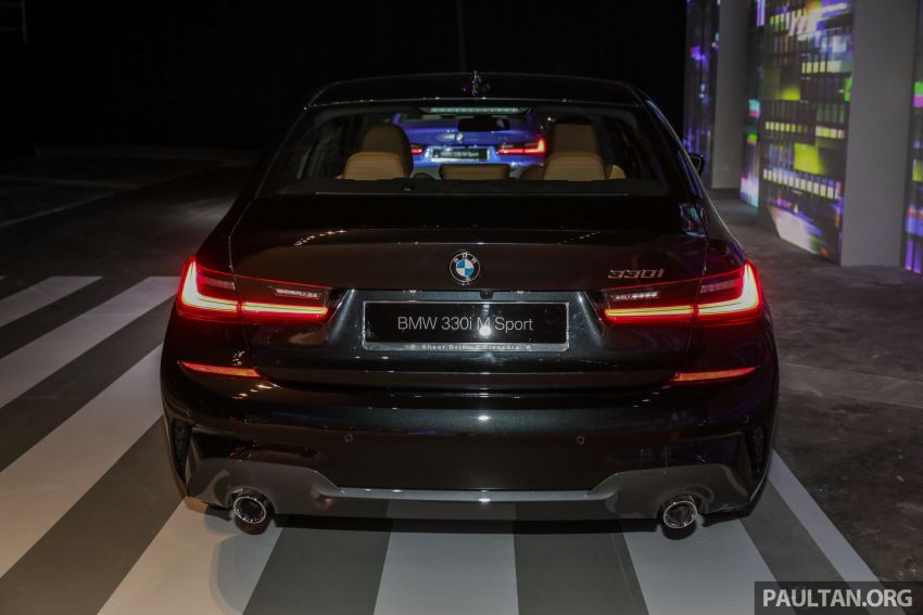 G20 BMW 3 Series launched in Malaysia: 330i, RM329k Image #940057